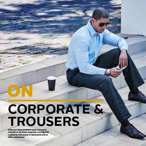Corporate & Trousers