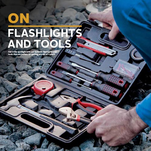 Flashlights & Tools